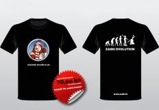 ZASKI EVOLUTION kratka majca