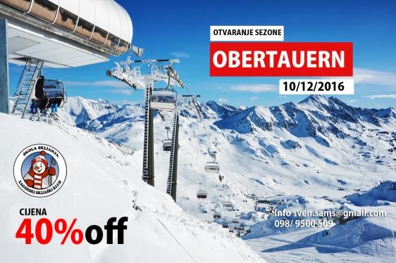 Obertauern otvaranje ski sezone 16/17